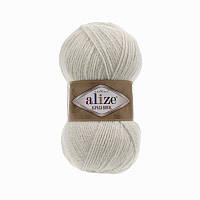 Пряжа 152 Alize Alpaca Royal, 100гр - 250м (бежевый )