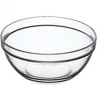 Салатник круглий скляний Pasabahce Сhefs 14 см 53553