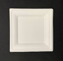 Тарілки паперові квадратні 24 * 24 см 125 шт