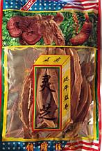 Слайсы уникальный гриб Ганадерма от рака (Линчжи, Lingzi, Ганодерма, Рейши)