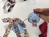 Окуляри сонцезахисні брендові під Ray Ban блакитні, фото 4