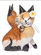 Пара котов целующихся