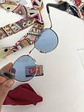 Окуляри сонцезахисні брендові під Ray Ban блакитні, фото 5