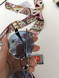 Окуляри сонцезахисні брендові під Ray Ban блакитні, фото 6