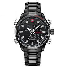 Часы мужские NAVIFORCE 9093 Черный (4240-12598)