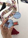 Окуляри сонцезахисні брендові під Ray Ban блакитні, фото 7