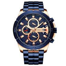 Часы мужские наручные CURREN 8337 кварцевые Blue (4243-12643)