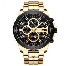 Часы мужские наручные CURREN 8337 кварцевые Gold (4243-12644)