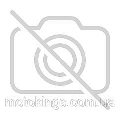 ARC  ШЛЕМ  ДВОЙНОЙ CROSS С СТЕКЛОМ A708 MAT ЧЕРНЫЙ /СЕРЕБРЯНЫЙ Размер S (A708GMBKSS)