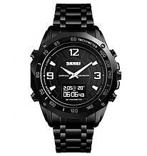 Наручные часы Skmei Compass Pro 1464 Черные (10413-1)
