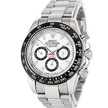 Наручные часы Rolex Cosmograph Daytona AAA Silver-Black-White-Black Реплика (1020-0418)