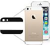 Apple iPhone 5S Стекло корпуса  комплект черный