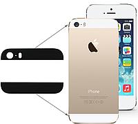 Apple iPhone 5S Стекло корпуса  комплект черный, фото 1
