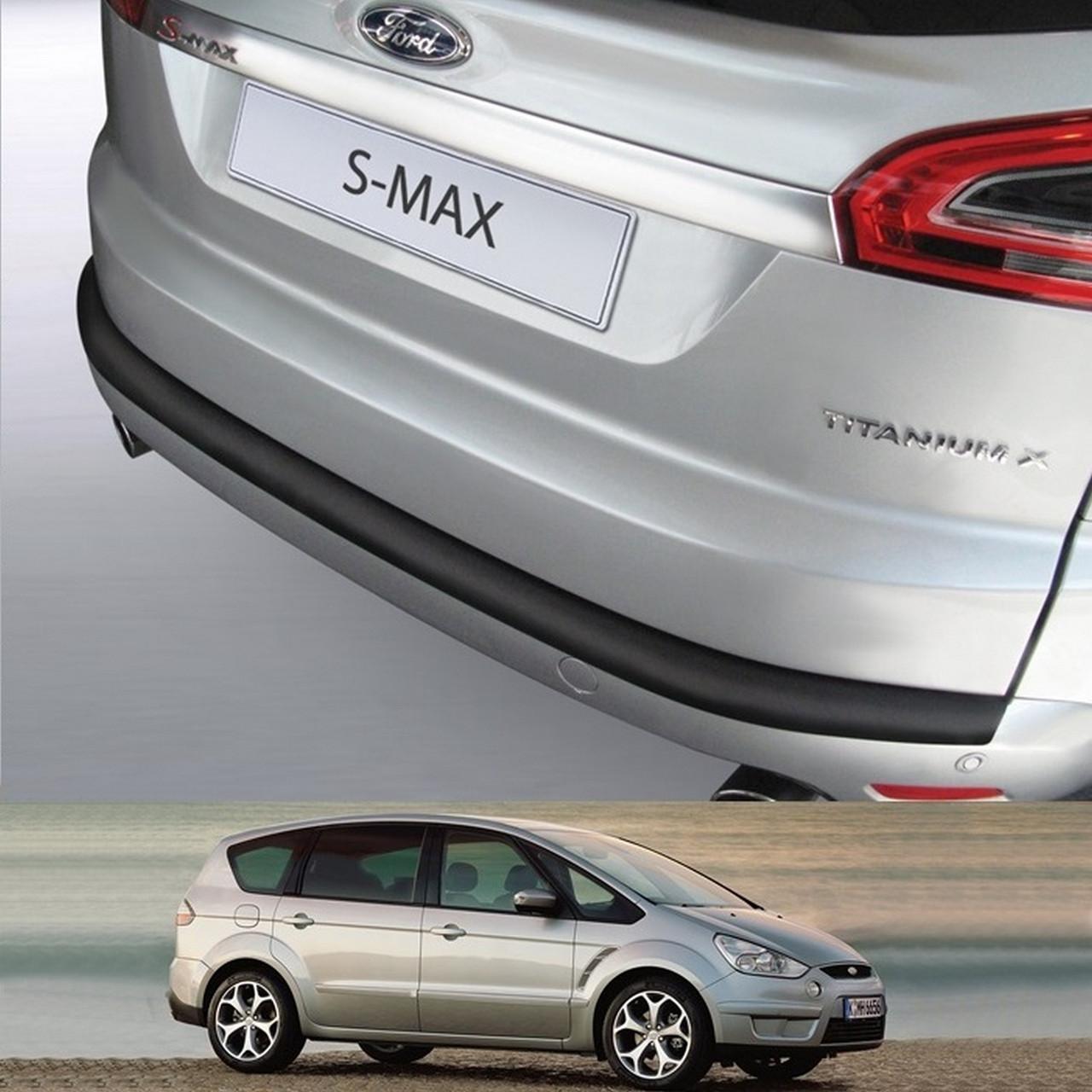 Пластиковая защитная накладка на задний бампер для Ford S-Max Mk1 2006-2015