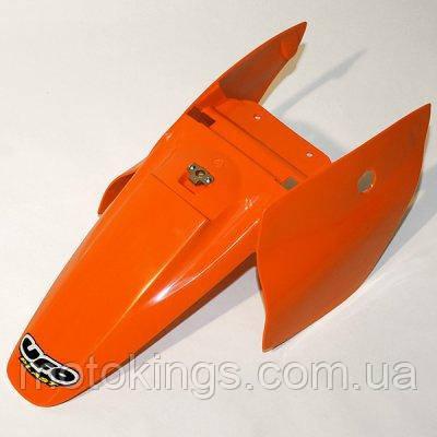 UFO ЗАДНЕЕ КРЫЛО  KTM SX 65 '02-'08 С ЗАДНИМИ БОКАМИ ЦВЕТ ОРАНЖЕВЫЙ (KT03073127)