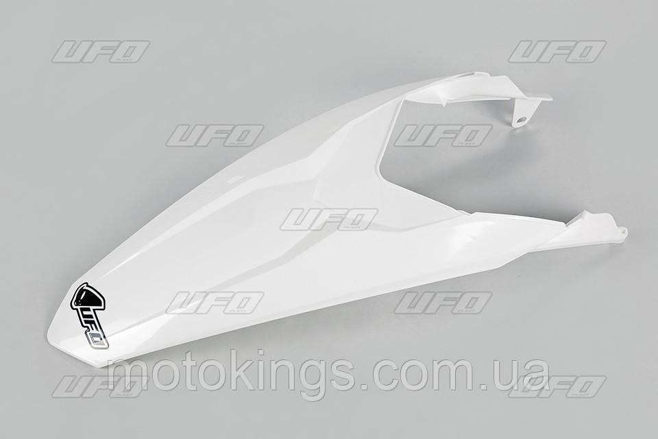 UFO ЗАДНЕЕ КРЫЛО  KTM SX 85 '13-'17, ЦВЕТ БЕЛЫЙ (KT04045047)