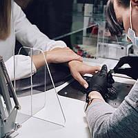Защита для мастеров нейл-сервиса и их клиентов. Защитный экран