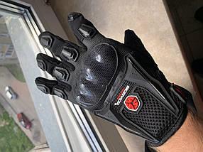 Мотоперчатки текстильные с защитой Scoyco