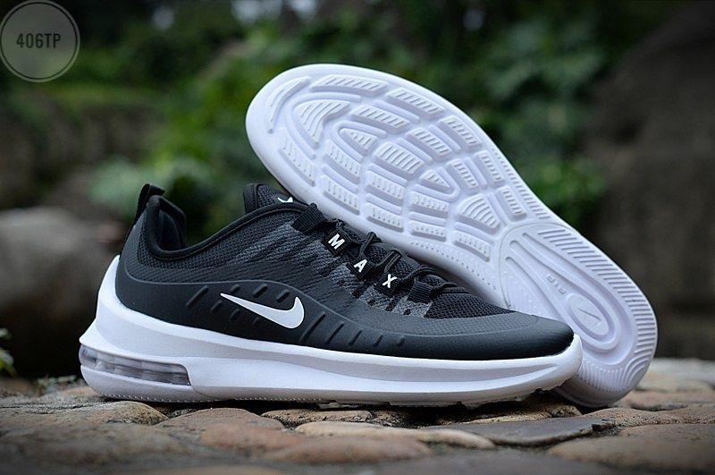 Чоловічі кросівки Nike Air Max Axis (чорно-білі) 406TP