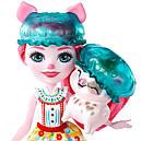 Набор Enchantimals Банный день и кукла свинка Петя Пигги GJX36, фото 5
