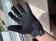 Защитные мото перчатки с костяшками Madbike мотоперчатки, фото 3
