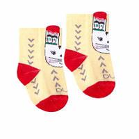 """Детские демисезонные носочки ТМ """"Дюна"""" с рисунком (зайчик). Размеры: 10-12, 12-14, 14-16"""