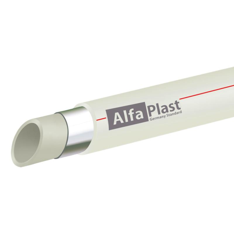 Труба из PPR Alfa Plast PPR/AL/PPR армированная алюминием 20