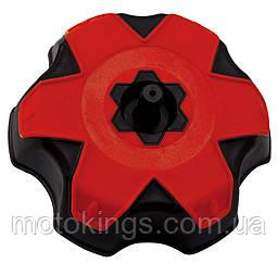 RACETECH ПРОБКА БАКА  HONDA CRF 250/450 02-16 TRX 250/300/400/450/700 99-16 BLACK-RED (TAPPOCRFRS9)
