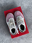 Женские кожаные кроссовки Puma Cali (бело-розовые) 408GL, фото 3