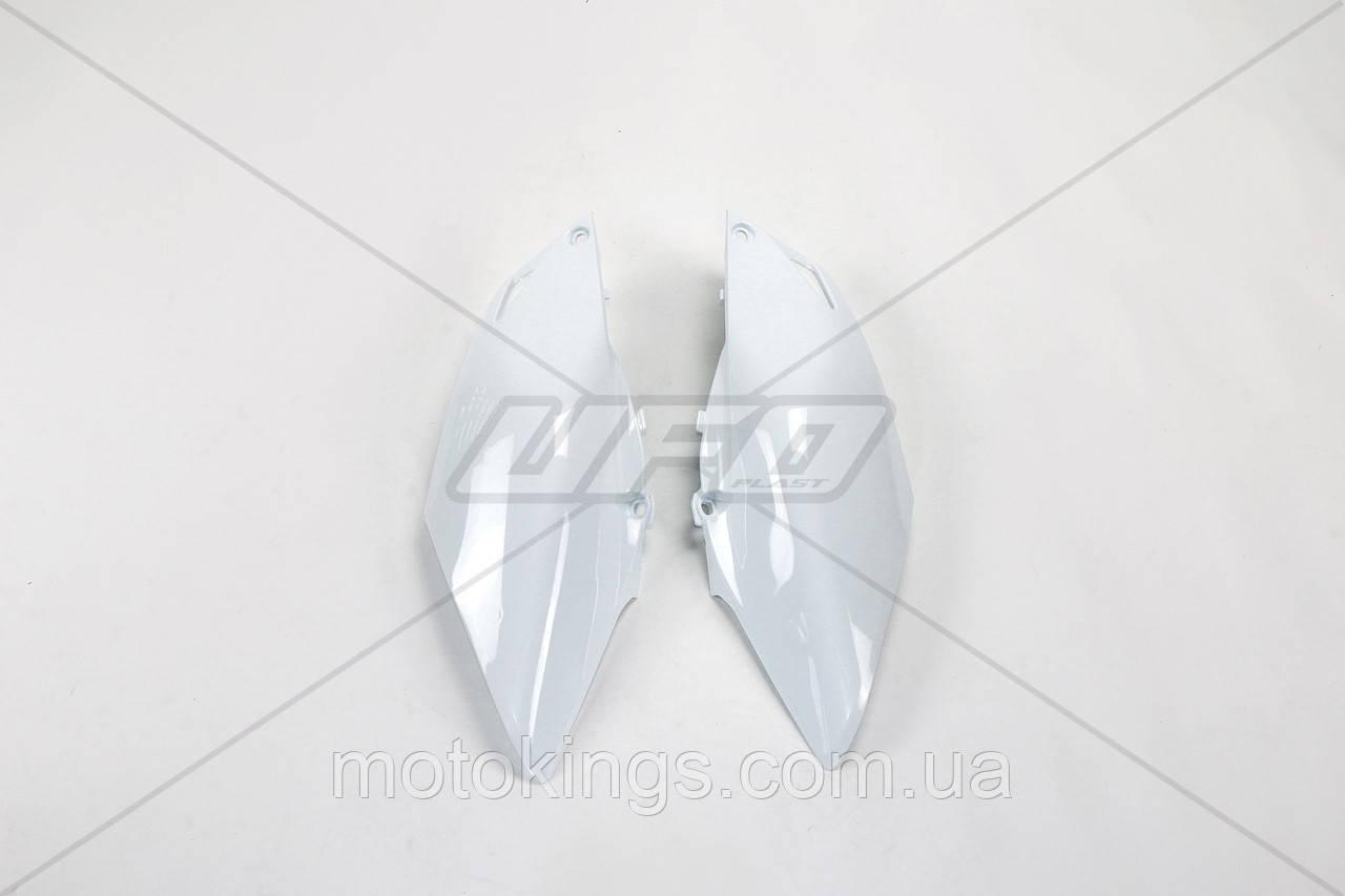 UFO БОКА ЗАДНИЕ HONDA CRF 250R '14-'17, CRF 450R '13-'16 ЦВЕТ БЕЛЫЙ (HO04659041)