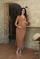 Хлопковое платье для беременных 6735-1, фото 1