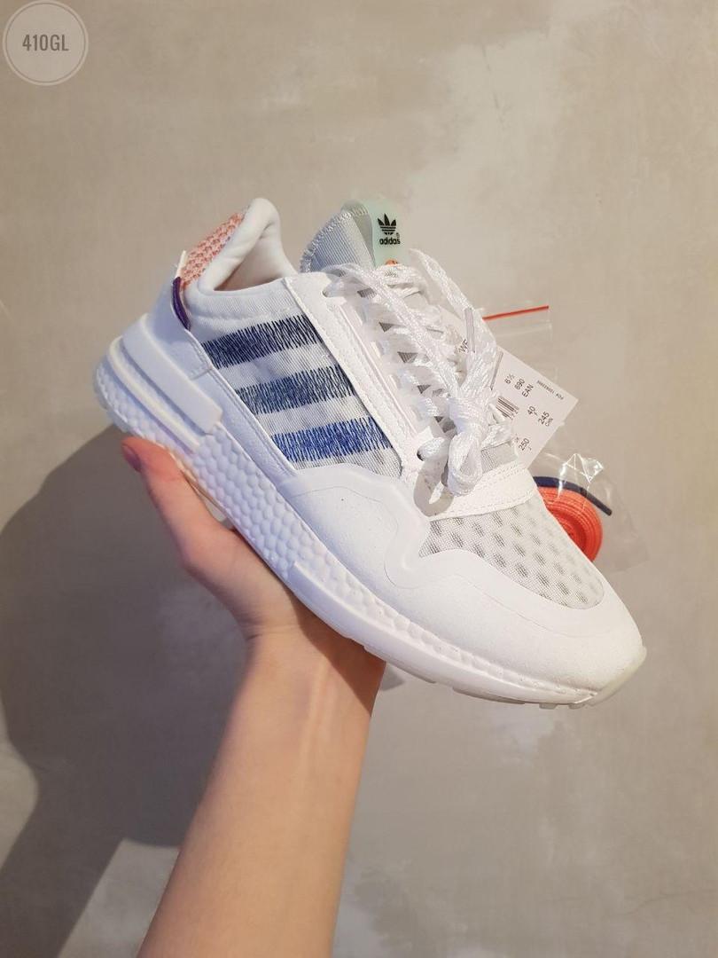 Жіночі кросівки Adidas Commonwealth ZX 500 RM (білі) 410GL