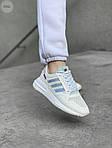 Жіночі кросівки Adidas Commonwealth ZX 500 RM (білі) 410GL, фото 5