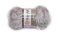 10 Пряжа «Травка» Samba 100гр - 150м (Светло-серый) YarnArt