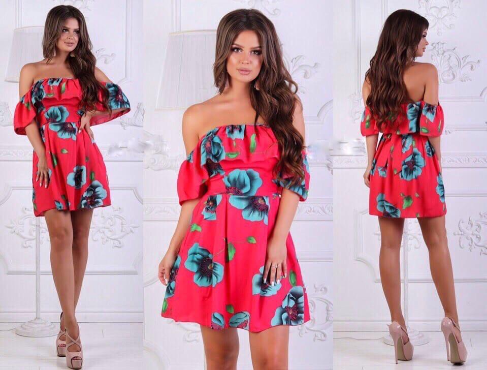 Сукня в квітка