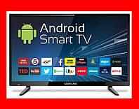 Smart Телевизор Samsung 32' android Led, FullHD, T2, Wi-Fi Смарт ТВ Гарантия