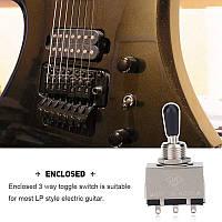Перемикач тумблер Korea switch для гітари електрогітари Gibson LP Les Paul SG ES ХРОМ