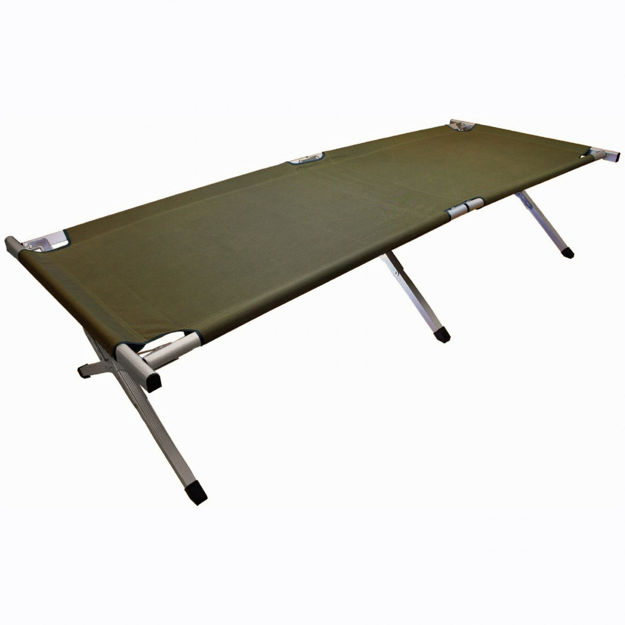 Кровать кемпинговая Highlander Aluminium Camp Bed Green