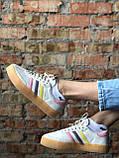 Жіночі кросівки Adidas Samba white (Адідас Самба), фото 2