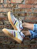 Жіночі кросівки Adidas Samba white (Адідас Самба), фото 3