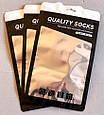 Зип-пакеты со струнным замком zip-lock зип-лок для носков Q-socks wide gloss 14,5см х 24,5см, фото 2