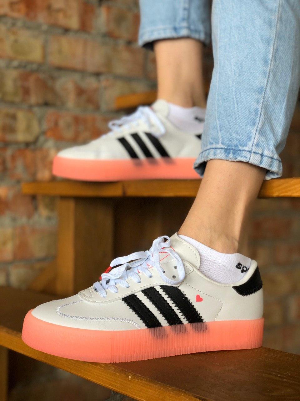 Женские кроссовки Adidas Samba / Адидас Самба