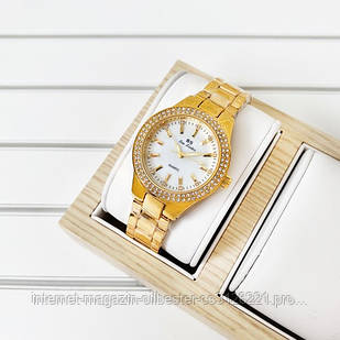 Bee Sister 1258 Gold-White Diamonds