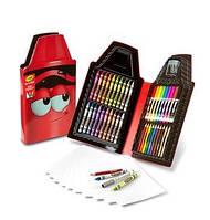 Набор для творчества 50 предметов красный Crayola Tip 50 Piece Art Kit