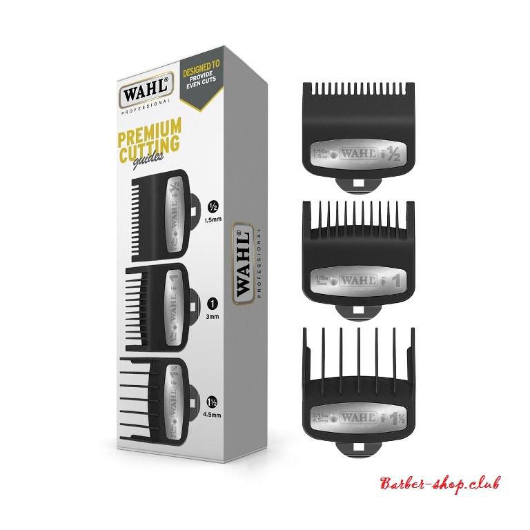 Набір насадок Wahl Premium (1,5; 3; 4,5 мм), 3 шт.