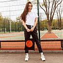 Футболка женская белая оверсайз бренд ТУР модель Квил (Quill)  XS, S, фото 3