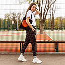 Футболка женская белая оверсайз бренд ТУР модель Квил (Quill)  XS, S, фото 5