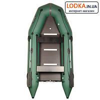 Надувная лодка ПВХ BARK BT-360SD килевая, с жестким фанерным дном. Купить Барк ВТ-360 под мотор