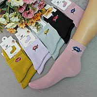 """Женские носки """"Шугуан"""", 36-40 р-р .  Женские носочки, носки для женщин средней высоты., фото 1"""