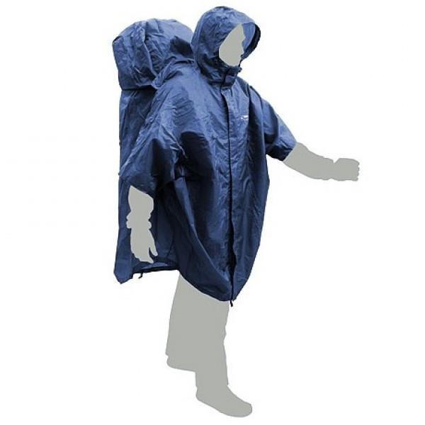 Накидка-пончо Terra Incognita CapeBag XXL-XXXL синяя